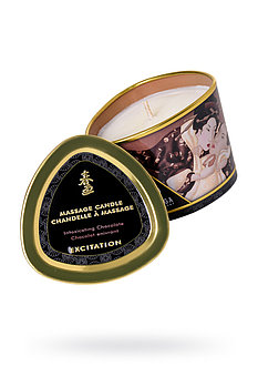 Массажное аромамасло-свеча Shunga, с ароматом пьянящий шоколад, 170 мл