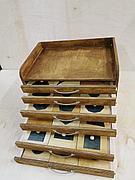 Геометрический комод (35 фигур) Монтессори