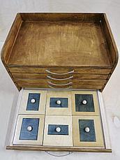 Геометрический комод (35 фигур) Монтессори, фото 2