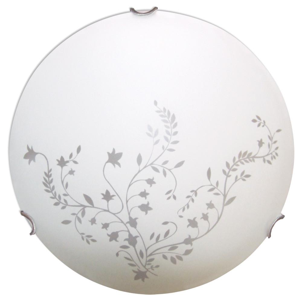 Светильник 250 Нежность НПБ 01-60-130 М15 матовый белый/кл.хром ИУ 00114