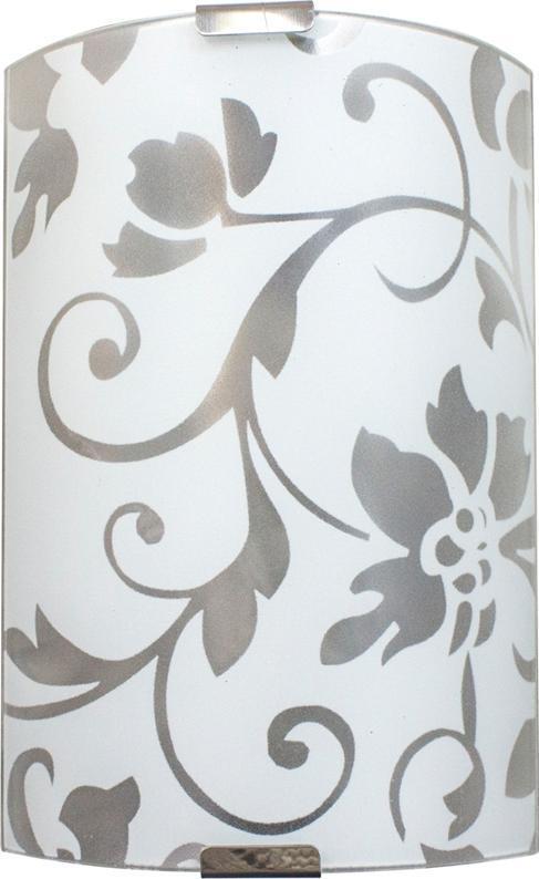 Светильник 210*245 Эрика НББ 21-60 М21 матовый белый/кл.штамп металлик ИУ 03959