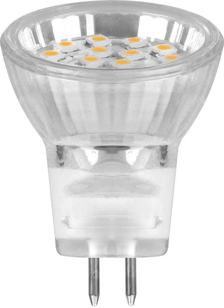 Лампа светодиодная, (1W) 230V G5.3 6500К, LB-27