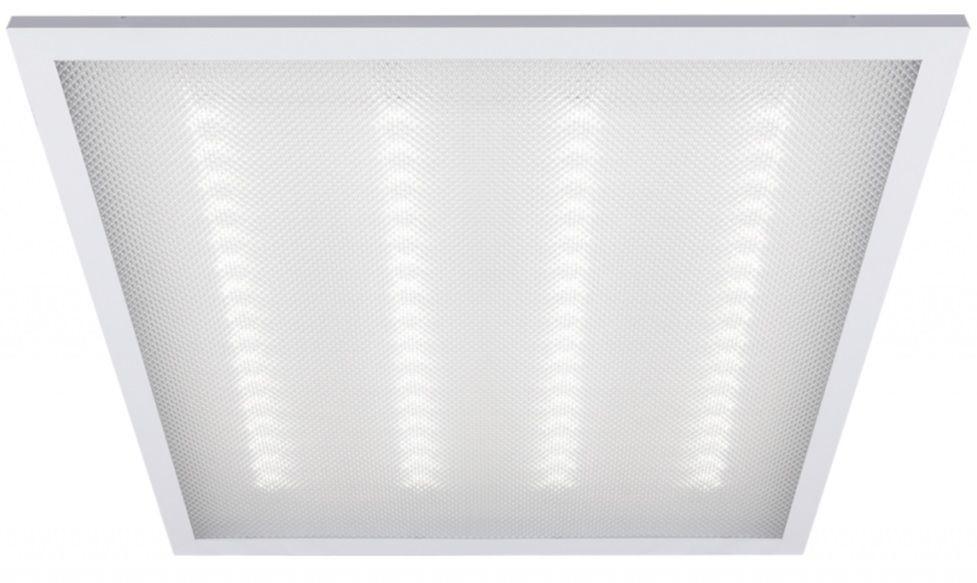 Панель светодиодная 36W 595*595 H30-KL (Заря ) рамка белая пластик