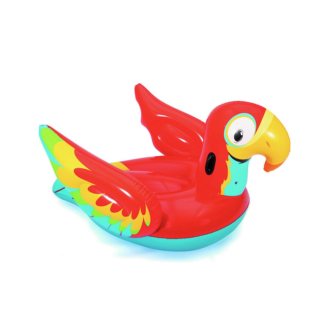 Надувной плот/игрушка для катания верхом BESTWAY 41127 Попугай Peppy Parrot (203х132см)