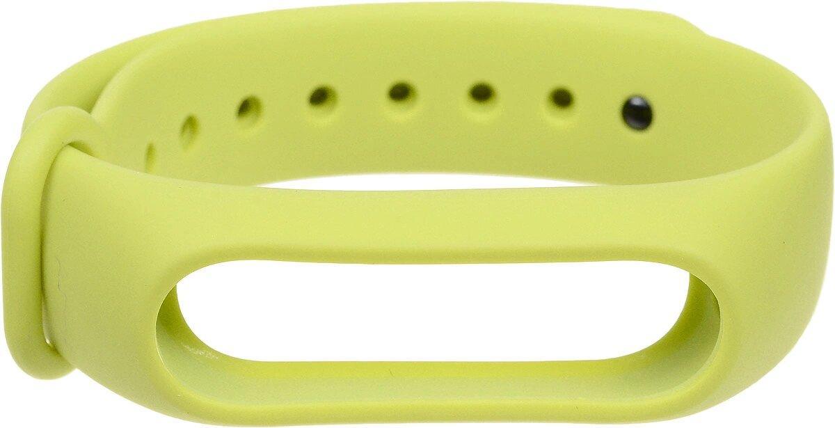Силиконовый ремешок Xiaomi Mi Band 2 Strap зеленый(MYD4086TY)