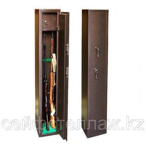 Оружейный сейф на 3 ствола металл 3 мм