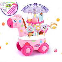 Конфетный жираф Giraffe Candy Cart