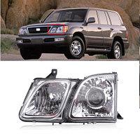 Передняя фара L (левый) на Lexus LX470 1998-2007 Белый оттенок, фото 1