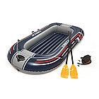 Лодка надувная BESTWAY 61083 Treck X1 (228х121см, Винил, 3х-камерная)
