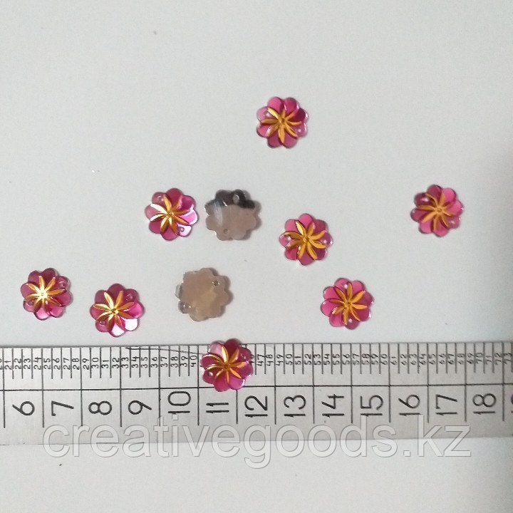 Стразы пришивные.  Солнышко.d -14 мм. Creativ 956