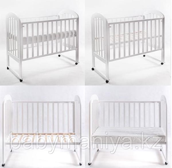 Кровать детская Glory white