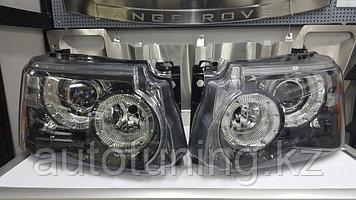Передние фары (головная оптика) на Range Rover sport L320 2010-2013 (рестайлинг)
