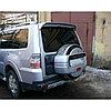 Колпак запасного колеса (чехол запаски) на Mitsubishi Pajero 4 2007+, фото 3