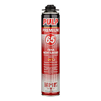 Пена Монтажная Pulp 65 Premium Зимняя, фото 1