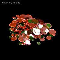 Камифубуки для декора, цвет красный/зелёный