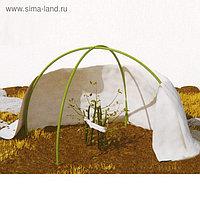 Набор для укрытия растений: иглопробивное полотно 1,6 × 1,6 м, плотность 200 г/м², дуга 1,5 м - 2 шт., колышки, клипсы