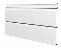 Софит виниловый 0,3x3,0 м (0,9 м2) Белый со скрытой перфорацией SV-09 UNICOLOR
