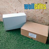 Подарочная коробка из микрогофрокартона 30х20х10 см Бурый