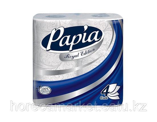 Туалетная бумага Papia Royal Edition 4сл. 4рул., фото 2