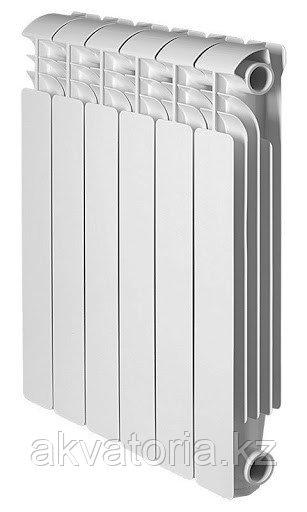 Global ISEO 500 8 секций радиатор аллюмин. бок.подкл.