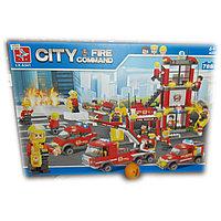 Конструктор City, 788 деталей. Пожарная служба., фото 1