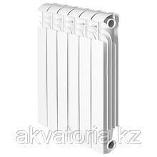 Global ISEO 500 4 секций радиатор аллюмин. бок.подкл.