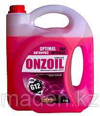 Антифриз красный ONZOIL G12 5кг