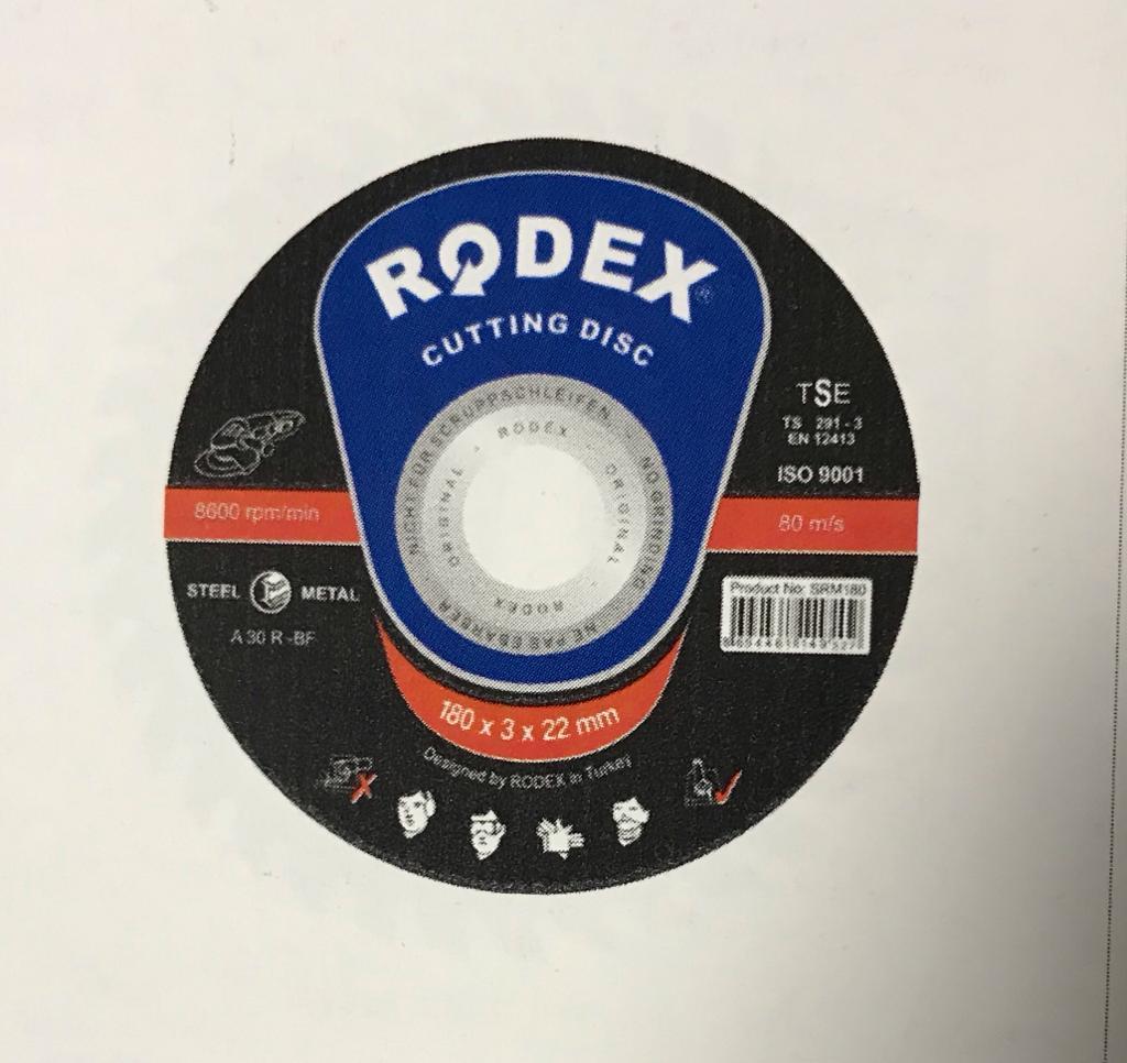 Диск по металлу отрезной Rodex 350*3*25,4мм
