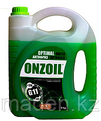 Антифриз зеленый ONZOIL G11 5кг