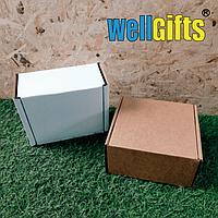 Подарочная коробка из микрогофрокартона 15х15х8 см