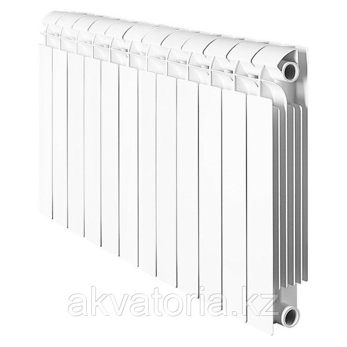 Global Vox Extra 500 10 секций радиатор аллюмин. бок.подкл.