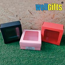 Подарочная картонная коробка 20Х20Х10 см