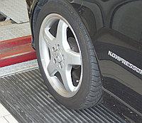 Тестер бокового увода («схождения») для легковых автомобилей с допустимой нагрузкой на ось до 2,0 т