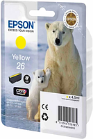 Картридж Epson C13T26144010 XP600/7/8 желтый
