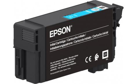 Картридж струйный Epson C13T40D240 голубой Singlepack UltraChrome XD2 Cyan T40D240 , 50ml