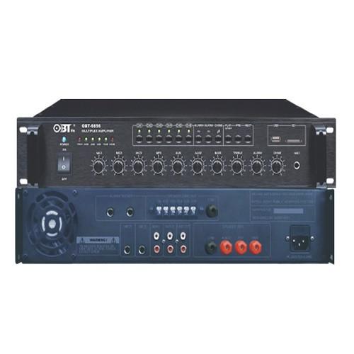 OBT-6656 Микшер усилитель 650 Вт, 6 зон оповещения, USB MP3 плеер