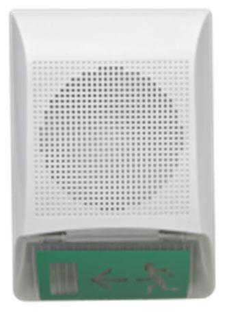 Рокот-3 вар. 4 Прибор управления оповещением со встроенной акустической системой с 3-я видами записа