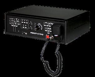 Рокот-5 ПУО исп. 2  Прибор управления оповещением, 120 Вт, 100 В, 2 зоны оповещения, 4 линии оповеще