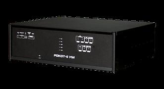 Рокот-5 УМ исп. 1 Усилитель мощности, 120Вт,  100В, 2 зоны оповещения, 4 линии оповещения, цифровая