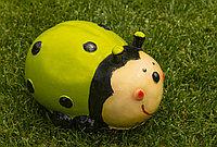 Садовая фигурка Божья коровка 20х14х10 см, цвет зеленый