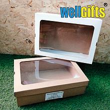 Подарочная коробка из микрогофрокартона 35х25х10 см