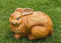 Заяц большой 18×30×18см коричневый