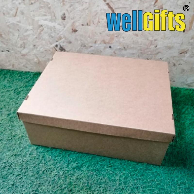 Подарочная коробка из микрогофрокартона 38х30х14 см