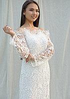 Платье Белое Кружевное  Kameya