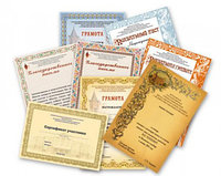 Дипломы/сертификаты