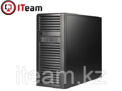 Сервер Supermicro MidiTower/Xeon E-2146G 3,5GHz/16Gb/4x1Tb