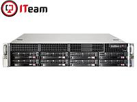 Сервер Supermicro 2U/1xSilver 4210R 2,4GHz/32Gb/2x300Gb SAS, фото 1