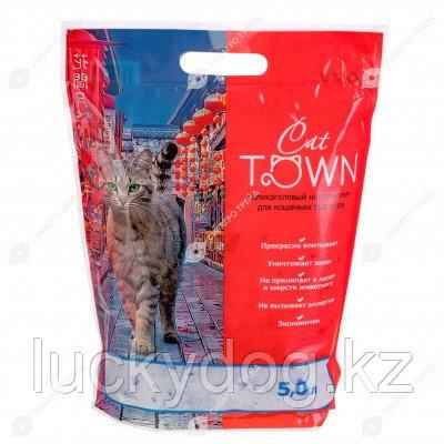 Наполнитель CAT TOWN силикагель, 5 л.