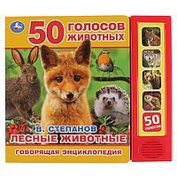 Говорящая энциклопедия «Лесные животные. В. Степанов»