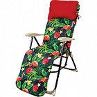 Кресло-шезлонг Nika с фламинго (HHK5/F)